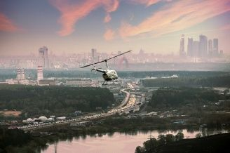 MOSCOW BY HELICOPTER