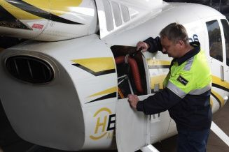 Training of aviation specialists for Robinson R66